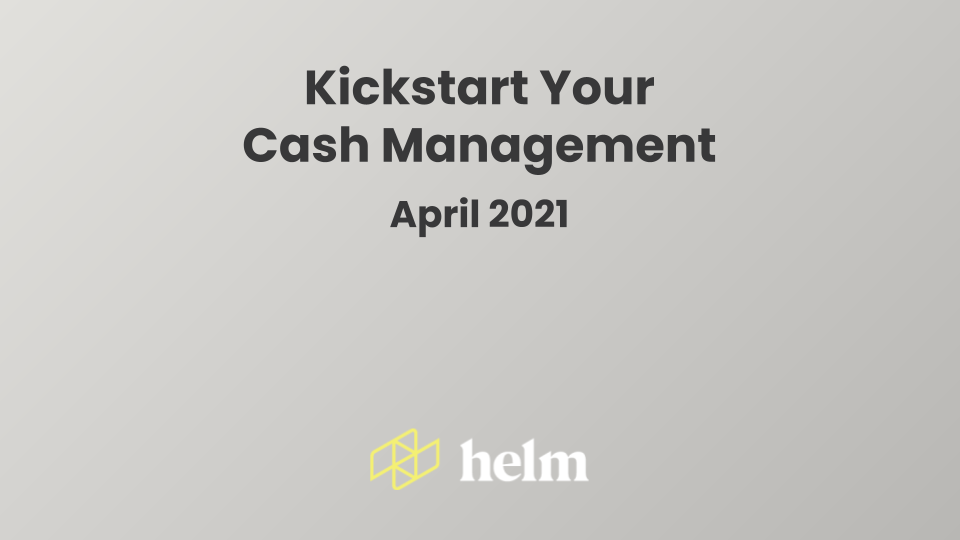 What is cash management and how can you do it quickly? Watch this webinar to find out